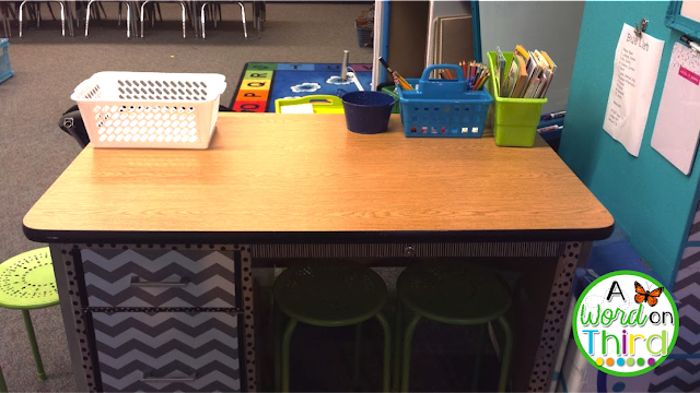 A Word On Third's 2016-2017 Flexible Seating Classroom