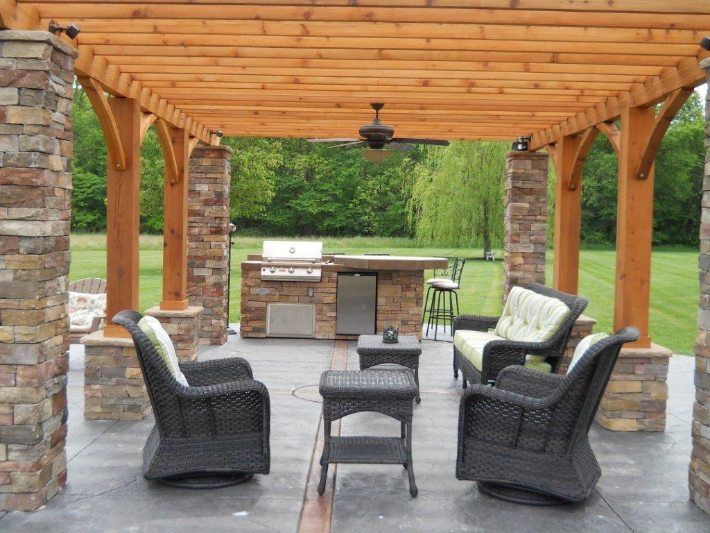 Outdoor Living: Decorative Concrete - Outdoor Living Space ... on Fancy Outdoor Living id=89359