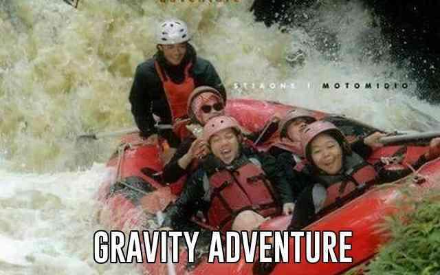 Rafting di Gravity Adventure Bandung Selatan Pangalengan