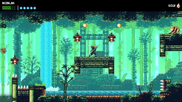 The Messenger - Bamboo forest 16-bit