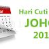 Hari Cuti Umum Johor Tahun 2017