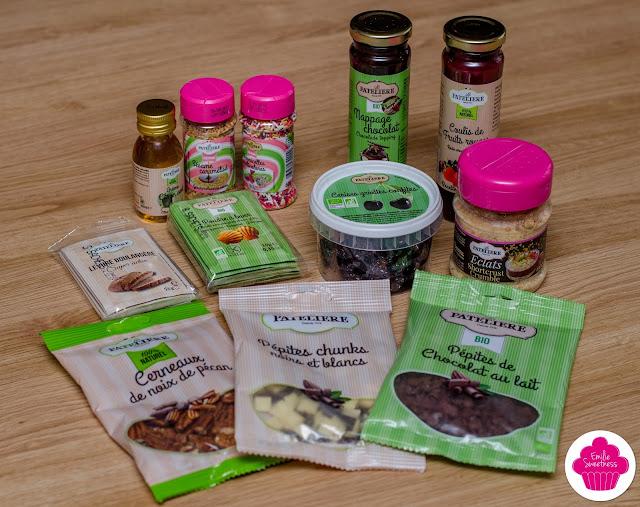 La Patelière: gamme création, gamme éclat, gamme bio et gamme 100% naturelle