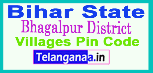 Bhagalpur District Pin Codes in Bihar State