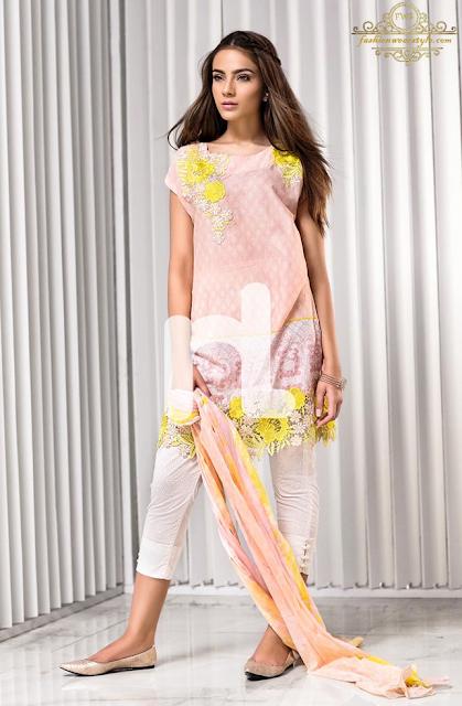 NL Sawan Collection by NishatLinen www.fashionwearstyle.com
