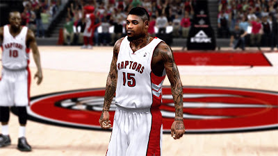 NBA 2K13 Amir Johnson Cyberface Patch