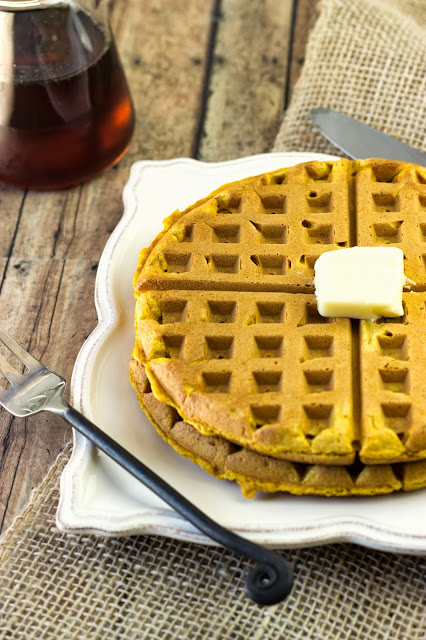 Pumpkin Waffles | Cooking on the Front Burner #waffles #pumpkin
