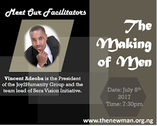 New Man Movement organises second annual online seminar- The Making of Men.