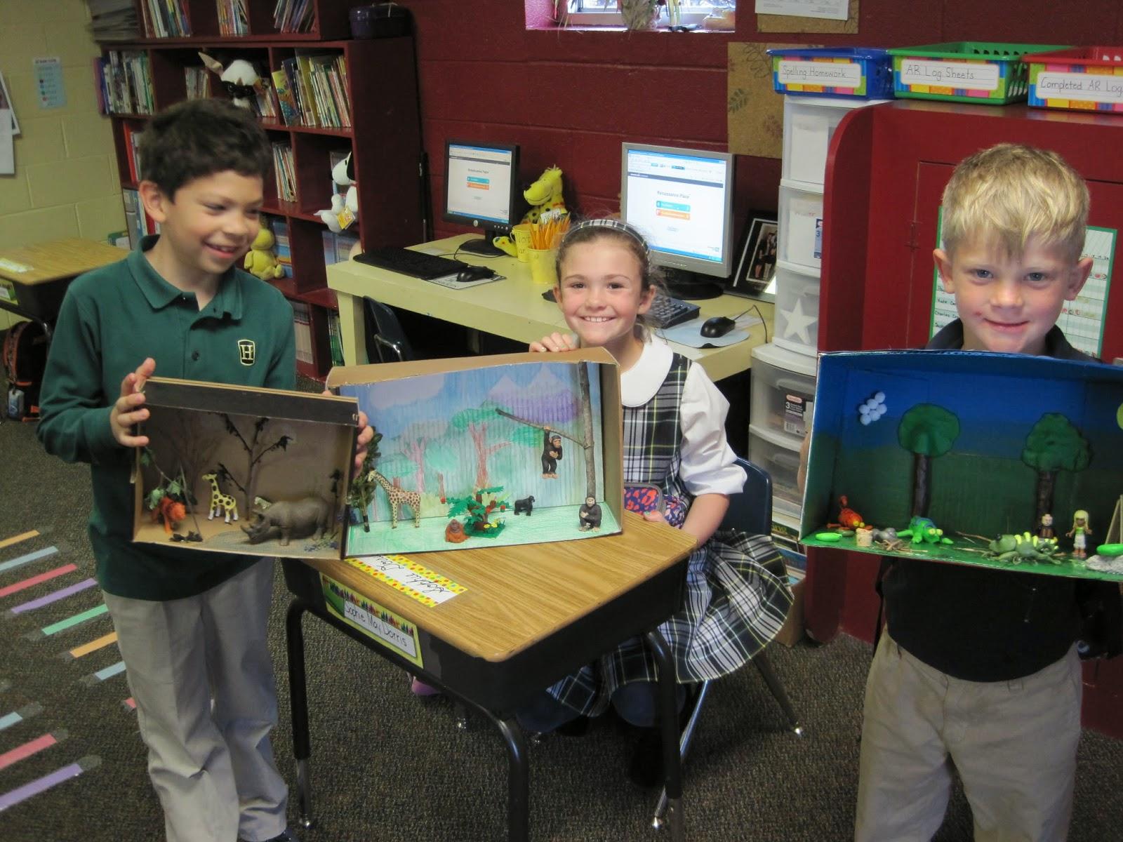 Ms Wallmark S Second Grade Adventures 2nd Grade Habitat