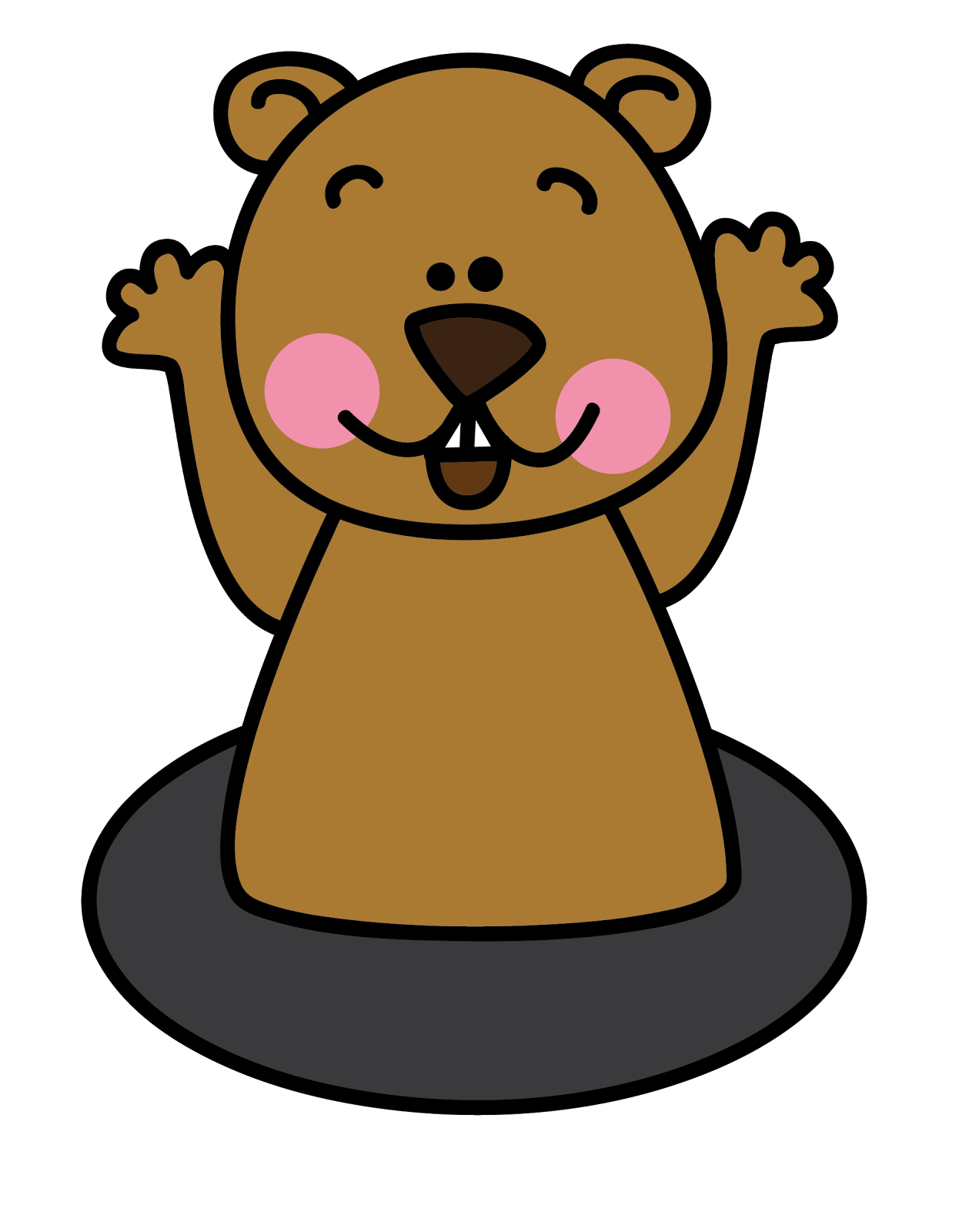 Kindergarten Clip Art: Mrs. Albanese's Kindergarten Class: Mr. Groundhog Is Coming