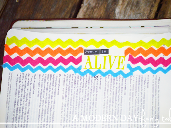 Bible Journaling: Spring & Easter Edition