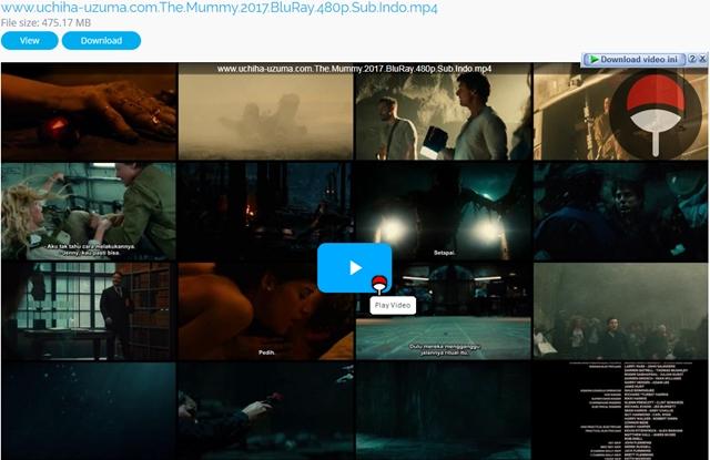 Screenshots The Mummy (2017) BluRay 480p Subtitle Bahasa Indonesia Openload Uptobox Userscloud