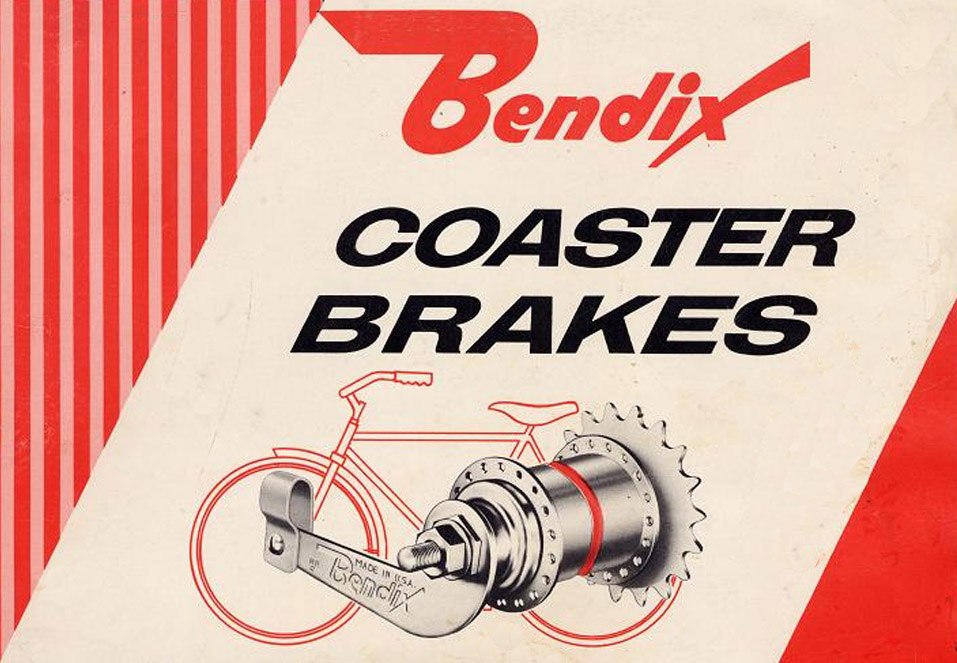 1960s coaster brake service manual cover.