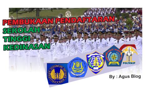 INFO PENERIMAAN PESERTA DIDIK BARU SEKOLAH KEDINASAN TAHUN 2018 LENGKAP
