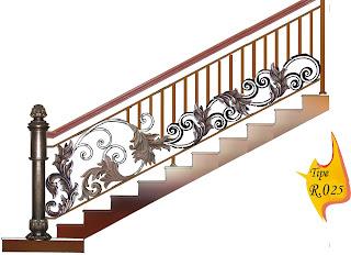 Desain, Tangga, Klasik, Classic, Design, Besi, Tempa