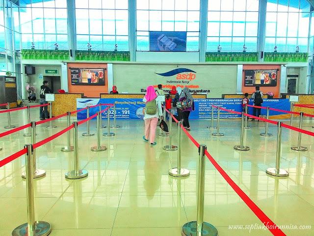 Tempat membeli tiket kapal ferry di Pelabuhan Bakauheni Lampung