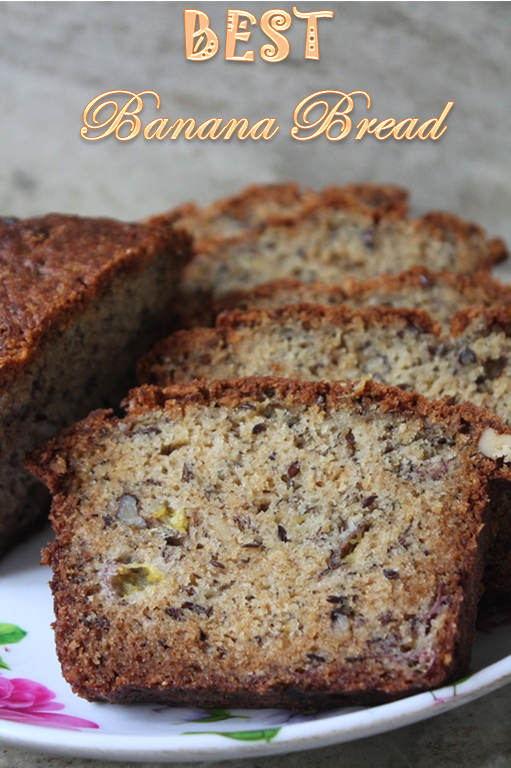 Basic banana bread recipe bakery style banana bread recipe this banana bread is a simple recipe it has basic ingredients but the ratio is perfect and gives you a moist full of banana flavour bread forumfinder Image collections