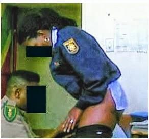 секс с полицейской видео