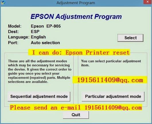epson pm 245 adjustment program