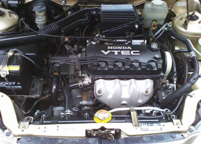 Foto Mesin Honda City Type Z VTEC / VTi