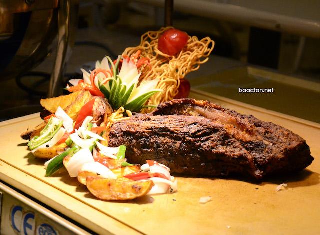Barbeque beef brisket