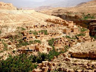 Aldea típica amazigh