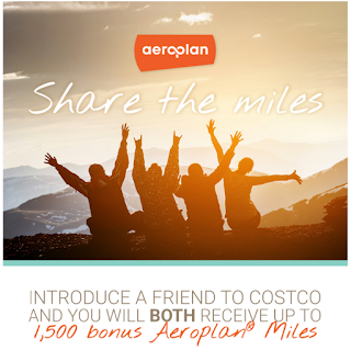 Introduce A Friend To Costco And You Will Both Receive Up To 1,500 Bonus Aeroplan Miles