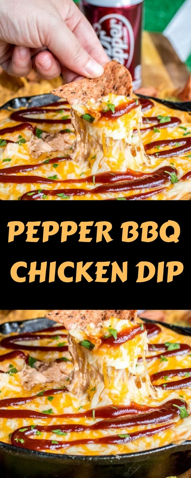PEPPER BBQ CHICKEN DIP