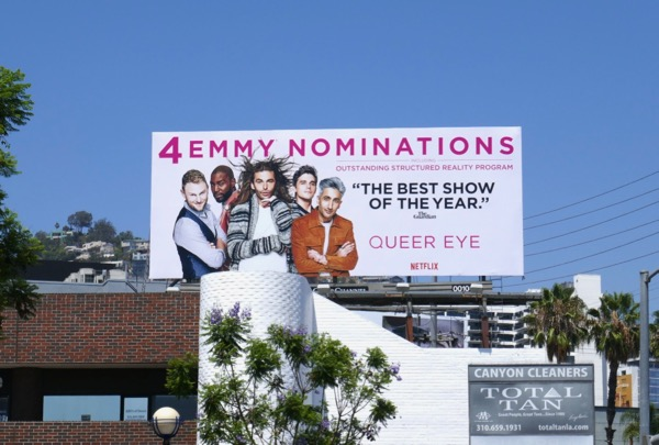 Queer Eye 2018 Emmy nominee billboard