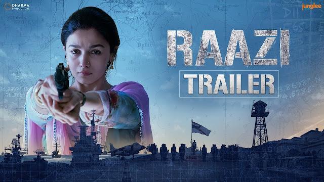 Alia Bhatt Raazi Trailer
