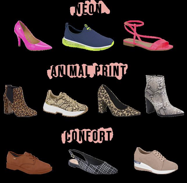 Tendências de Sapatos e Acessórios