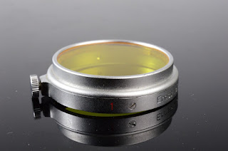 Leica Leitz Germany A36 36mm 1 Yellow Filter Excellent Condition