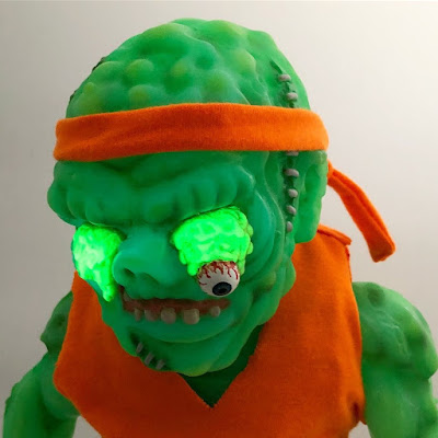 Toxic Avenger Meats Vinyl Figure by Retroband