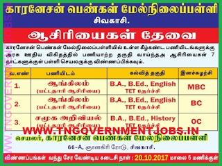 carnesan-school-recruitment-www-tngovernmentjobs-in