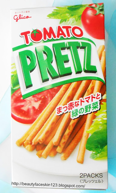 JAPAN FUNBOX JULY 2016-MONTHLY JAPAN SUBSCRIPTION BOX- Glico Pretz Tomato