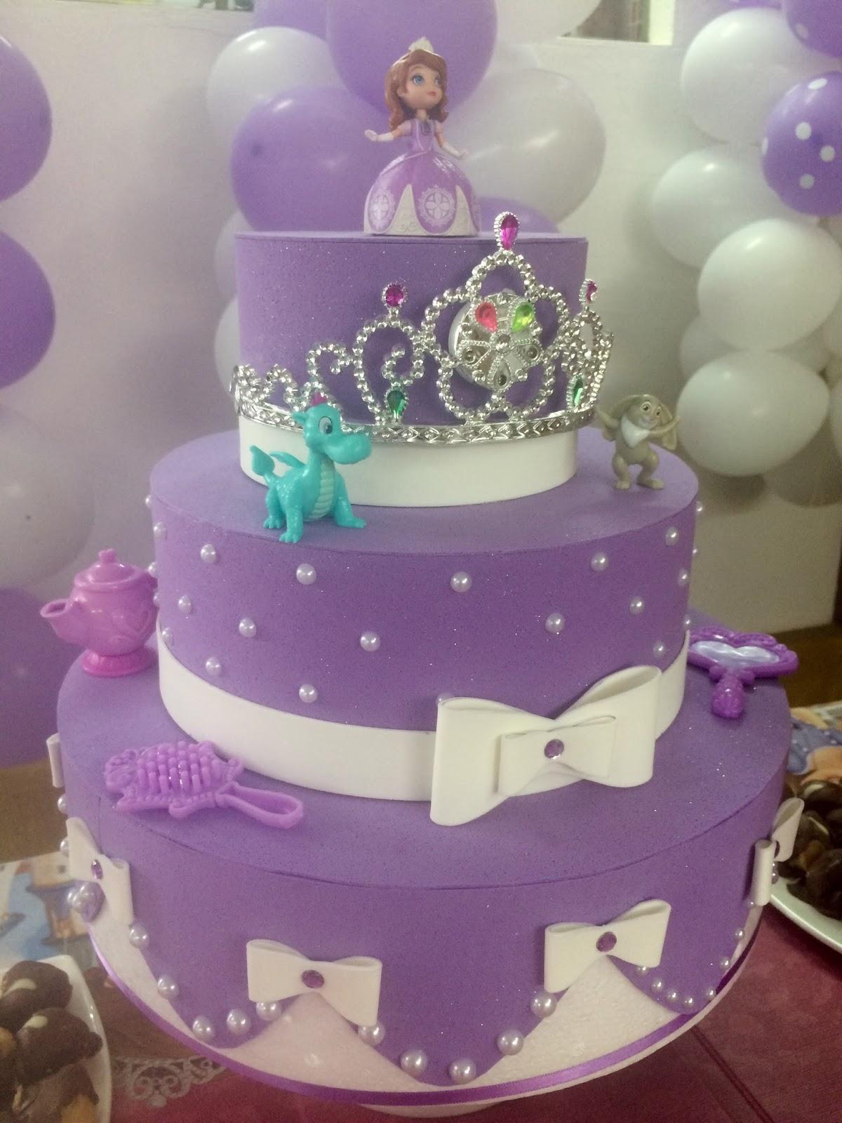 Decoraç u00e3o De Aniversario Da Princesa Sofia -> Decoração De Aniversário Princesa Sofia