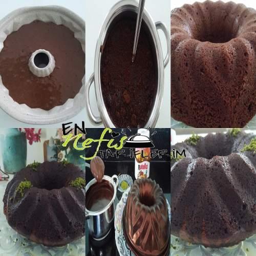 Nutellalı Islak Kek Nasıl Yapılır
