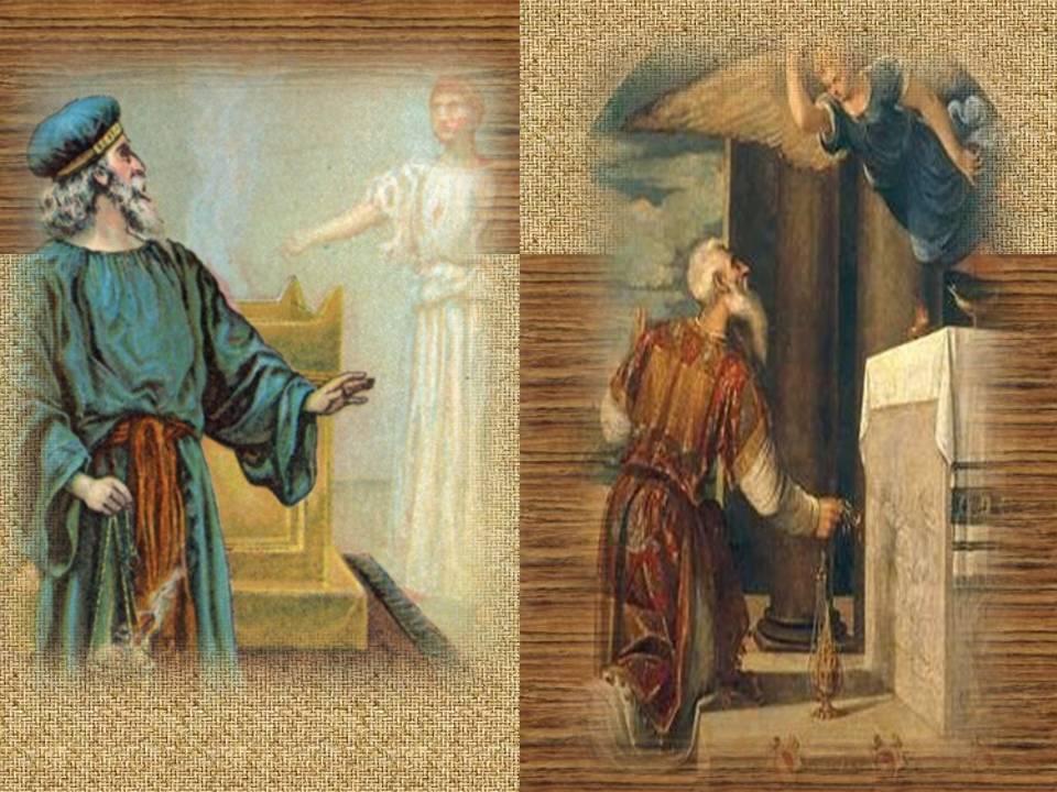 Daily Gospel: Angel Gabriel speaks to Zechariah concerning
