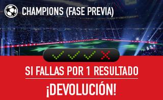 sportium promocion Previa Champions 22-23 agosto