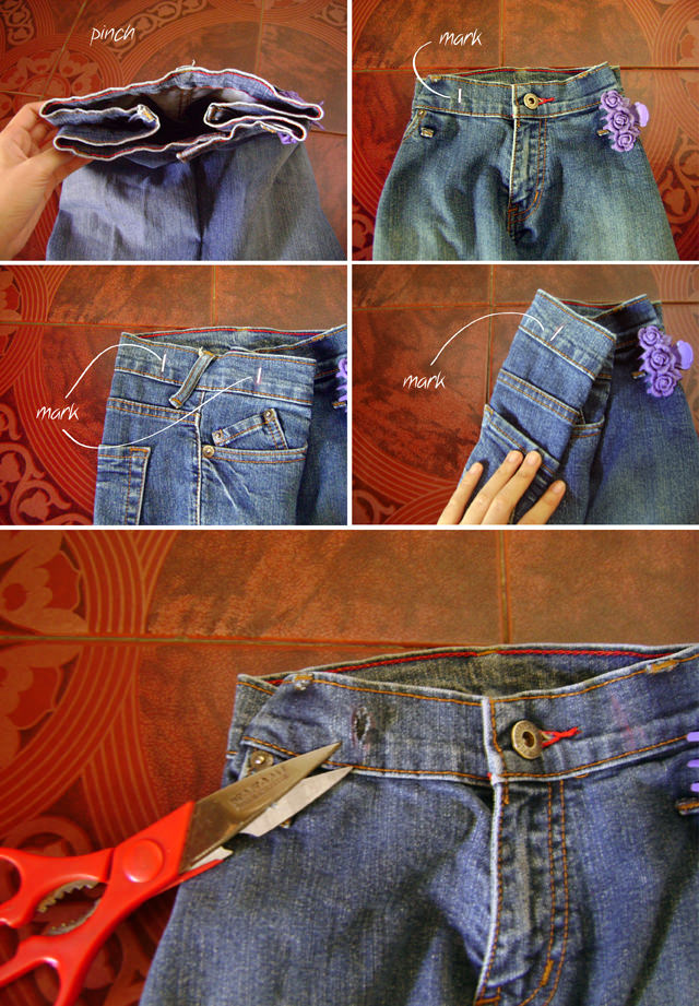 DIY Denim Backpack from Jeans Tutorial