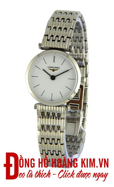 Đồng hồ đeo tay nữ Longines dây Inox giá rẻ