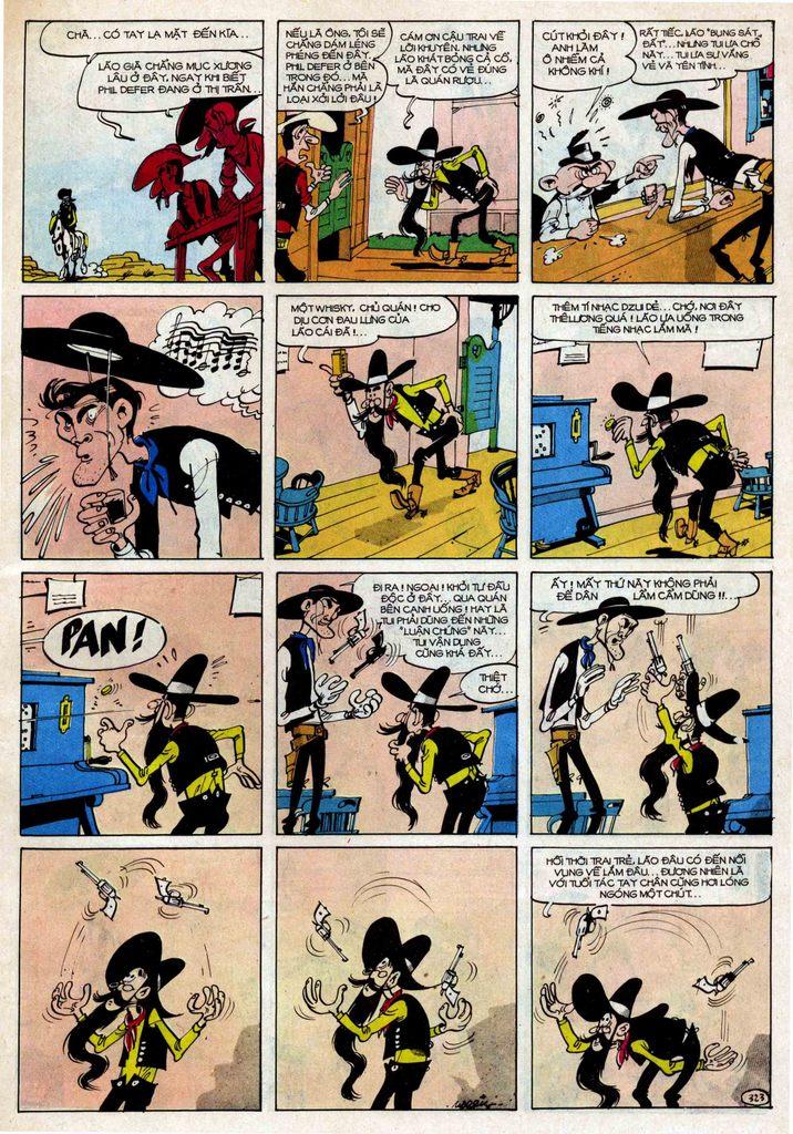 Lucky Luke tập 25 - nhện chân dài trang 23