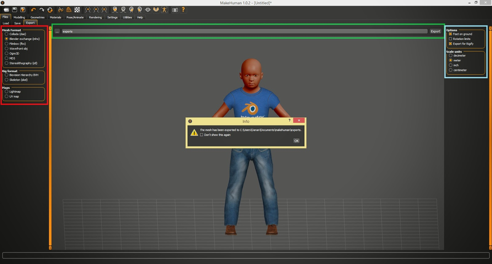How To Quickly Generate a Rigged and Animatable Character