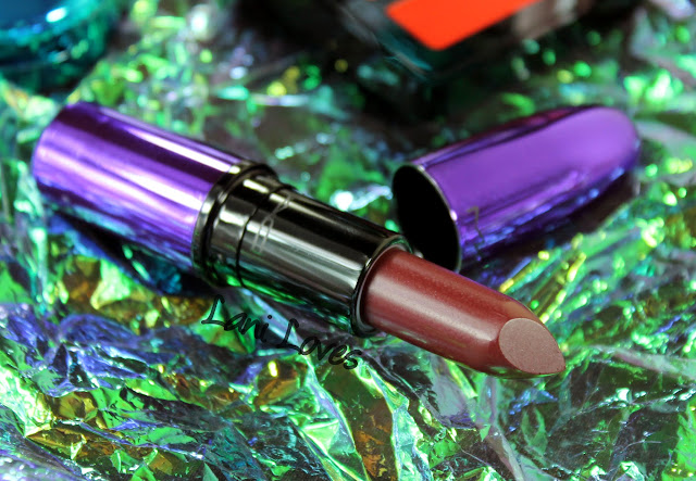 MAC Magic of the Night - Dark Side Lipstick Swatches & Review
