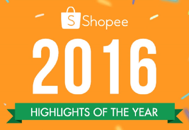 Shopee Highlights of 2016; 2M Downloads and 1M Listed Products