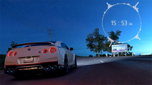 Nissan GT-R - Wallpaper (Night) Full HD Wallpaper Engine