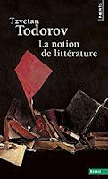 """""""La notion de littérature"""" - T. Todorov"""