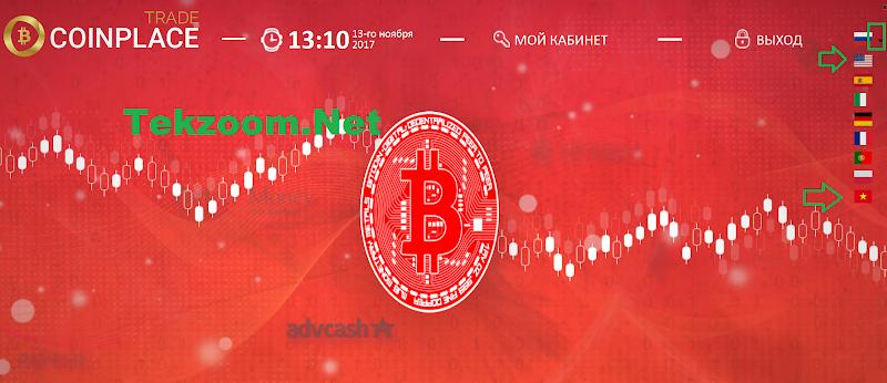 [SCAM] Review CoinPlace - Dự án TradeCoin lãi Up 6% hằng ngày - Đầu tư tối thiểu 10$ - Thanh toán tức thì