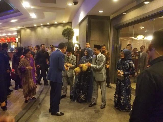Jokowi dan Prabowo Menghadiri Pernikahan Putra KH Said Aqil Siradj