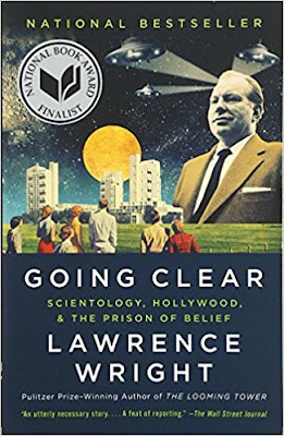 Going Clear by Lawrence Wright (Book cover)