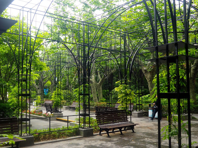 Fuxing Park, French Concession, Shanghai, China